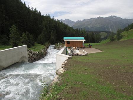 alpECON Kulturtechnik, TB Klinger Imst, Kleinwasserkraftwerk